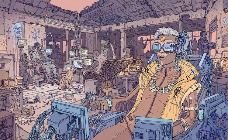 Internet trong thế giới Cyberpunk và blackwall